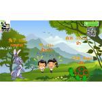 นิทาน สอนภาษาจีนออนไลน์ เรื่อง 龟兔赛跑 กระต่ายกับเต่า ตอนที่ 1