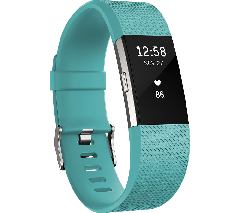 Fitbit Charge 2 Teal Large รับประกันศูนย์ 1 ปี