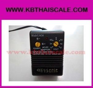 Adapter แบบปรับไฟเองได้ 1.5 - 12V ขนาด 500mA มีหัวต่อหลายแบบ ใช้สำหรับอุปกรณ์ขนาดเล็กเท่านั้น