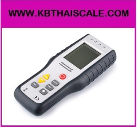 เทอร์โมมิเตอร์ เครื่องวัดอุณหภูมิ มิเตอร์วัดอุณหภูมิ -200 °C to 1372 °C (-328 °F to 2501 °F ) 4-Channel Digital Thermometer Type-K HT-9815