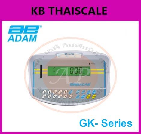 อะไหล่เครื่องชั่ง หน้าจอเครื่องชั่ง Indicator เรืองแสง อินดิเคเตอร์ราคาประหยัด สีดำ สูง 20mm รุ่น GK-Series ยี่ห้อ ADAM