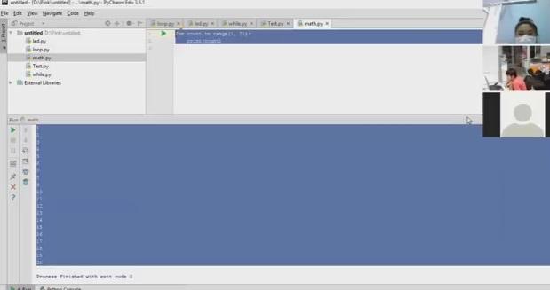 Raspberry Pi Online คาบที่ 4 เรื่อง การเชื่อมต่อ Input-Output การใช้คำสั่ง Loop (for/while) ตอน 2/4