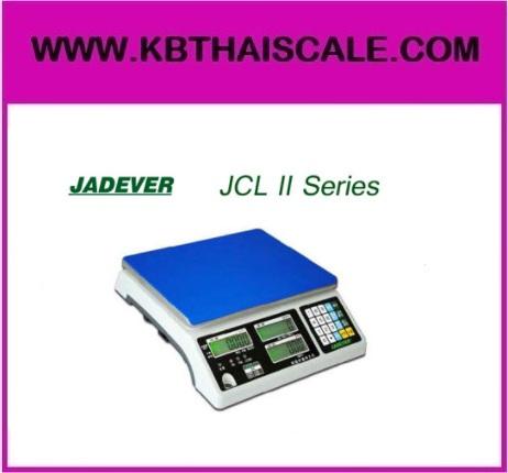 ตาชั่งนับจำนวน30kg เครื่องชั่งน้ำหนัก30kg เครื่องชั่ง1530kg เครื่องชั่งดิจิตอล130kg ความละเอียด2g JADEVER JCL II-30k