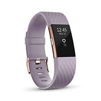 Fitbit Charge 2 Rose Gold Lavender Large รับประกันศูนย์ 1 ปี