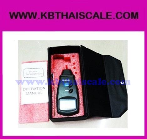 เครื่องวัดความเร็วรอบ Digital Laser Photo Tachometer Non Contact Tach