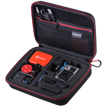 Smatree SmaCase G160 Compact Case for Gopro Hero5/4/3+/3/2/1 Cameras and Accessories