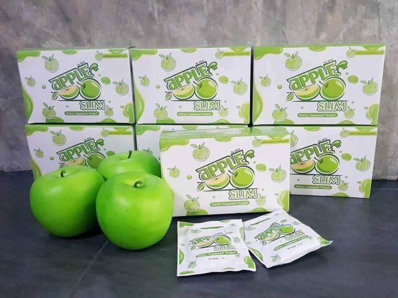 Apple Slim แอปเปิ้ลสลิม ลดความอ้วน 10 ซอง