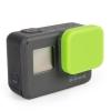ฝาปิดเลนส์ ซิลิโคน GoPro Hero 5 6 Green เขียว