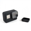 Silicone Housing Case + Lens Cap Cover Protector for Gopro Hero 5 6 Camera ซิลิโคน เคส ฝาปิด