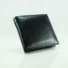 Black in Black กระเป๋าสตางค์หนังแท้สีดำ