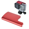 Gopro 3+/4 Camera Aluminum Waterproof Housing Lock Buckle Red