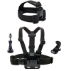 Smatree Head Strap Mount + Chest Mount for Action camera