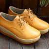 รองเท้าGuVoosm สีน้ำตาล รหัส MM086