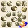 ชุดเหรียญกษาปณ์ที่ระลึก ชนิดราคา 5 บาท ครบ 17 วาระ