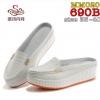 รองเท้าพยาบาล หนังสีขาว รหัสMM020 (พรีออเดอร์)
