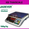ตาชั่งดิจิตอล 15กิโลกรัม เครื่องชั่งดิจิตอล15กิโล เครื่องชั่งน้ำหนัก15kg เครื่องชั่งน้ำหนักระบบอิเล็กทรอนิกส์15kg ความละเอียด 1g JADEVER รุ่น JWRN-15K