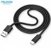 TELESIN Type-C 3.0 USB Cable for GoPro Hero 5 6 with 1 meter length สายชาร์จ Type-C 3.0 ยาว 1 เมตร