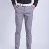 ขาเดฟ ผ้าซาตินยืด สีเทาควันบุหรี่ - Light Gray
