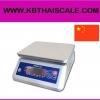 ตาชั่งดิจิตอล เครื่องชั่งกันน้ำ ตาชั่งกันน้ำ โครงพลาสติก ถาดสแตนเลส 15Kg ความละเอียด2g Waterproof Digital Scale New 15Kg/2G