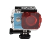 Diving Color Filter Protective Lens Cover Red Filter SJ4000wifi แพคเกจเก่า