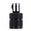 """360° Single-way CNC Aluminum Swivel Arm 1/4"""" Base Hole Mount Adapter"""