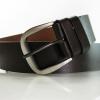 Vintage Collection Set-Dark Brown เข็มขัดหนังแท้สไตล์วินเทจ สีน้ำตาลดำ