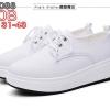 รองเท้าพยาบาล หนังสีขาว รหัสMM0088(พรีออเดอร์)