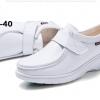 รองเท้าพยาบาล หนังสีขาว รหัสMM0008(พรีออเดอร์)