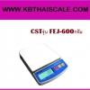 ตาชั่งดิจิตอล เครื่องชั่งดิจิตอล เครื่องชั่งแบบตั้งโต๊ะ รุ่น FEJ-600A ยี่ห้อ CSTชั่งได้สูงสุด 600 กรัม ค่าละเอียด 0.1 กรัม