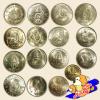 เหรียญกษาปณ์ที่ระลึก ชนิดราคา 1 บาท จำนวน 16 วาระ