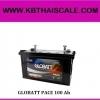 GLOBATT PACE 100 Ah แบตเตอรี่ดีพไซเคิล ชนิดน้ำ แต่ดูแลรักษาน้อย (รุ่นประหยัด) สำหรับระดับเริ่มต้น