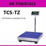 ตาชั่งดิจิตอล เครื่องชั่งดิจิตอล เครื่องชั่งแบบวางพื้น 750kg ความละเอียด 50g TCS-TZ750 Digital Scale platform scale ขนาดแท่น 60x80cm. มีแบตเตอรี่ชาร์ทในตัว