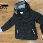เสื้อกันหนาว SNOWVY : (สีดำ) ทรงขนเป็ดเข้ารูป แขนยาวถึงมือ -15c เอาอยู่