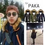 เสื้อกันหนาว PAKA : ฮู๊ดถอดขนได้ ใส่ได้ทั้งชาย และ หญิง