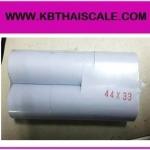 กระดาษเครื่องพิมพ์ใบเสร็จขนาดเล็ก ขนาด 44*33mm. ใช้กับเครื่องชั่งรุ่น TI-01P (จำนวน 20 ม้วน)