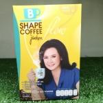 B Shape Coffee Floaw By Jintara บีเชฟ คอฟฟี่ โฟว์ โดย คุณแหม่ม จินตรา กาแฟปรุงสำเร็จ ควบคุมน้ำหนัก (10 ซอง)