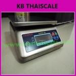 ตาชั่งดิจิตอล เครื่องชั่งกันน้ำ ตาชั่งกันน้ำ เครื่องชั่งสแตนเลส 15Kg ความละเอียด2g Waterproof Digital Scale New 15Kg/2g (SUPER-SS )