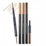 [PRE] Etude eyebrow contouring multi pencil #สี1 ดินสอเขียนคิ้วแบบ 3 in 1 ที่รวมดินสอเขียนคิ้ว+มาสคาร่าปัดคิ้ว+ไฮไลท์เนื้อครีมในแท่งเดียว [Pre order]
