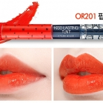 [PRE] Etude Kiss Lasting Tint 4g+4g #สี OR201 ลิปสติก สองหัว ที่รวมทั้ง ลิปกรอส และ tint สีสวย [Pre order]