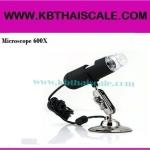 กล้อง ไมโครสโคป USB Microscope 600X ความละเอียด 1.3 M (ขาตั้งยาว พร้อมซอฟแวร์วัดขนาด)ราคาถูก