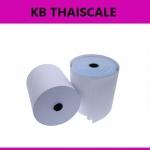 กระดาษความร้อน กระดาษเครื่องพิมพ์ใบเสร็จ กระดาษเทอร์มอล Thermal Papar กระดาษใบเสร็จ ขนาด3″ 80 mm. เส้นผ่านศูนย์กลาง80 มม. (เกรด A จากญี่ปุ่น)