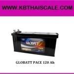 GLOBATT PACE 120 Ahแบตเตอรี่ดีพไซเคิล ชนิดน้ำ แต่ดูแลรักษาน้อย (รุ่นประหยัด)