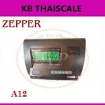 อะไหล่เครื่องชั่ง หน้าจอเครื่องชั่ง Indicator อินดิเคเตอร์ราคาประหยัด สีดำ backlight เรืองแสง รุ่น A12 ยี่ห้อ ZEPPER