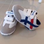 รองเท้าเด็ก COOL สีขาว