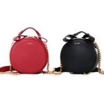พร้อมส่ง กระเป๋าถือ กระเป๋าสะพายข้าง แบรนด์Axixi รุ่น A10864 (สีดำ สีแดง)