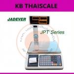 ตาชั่งคำนวณราคา15กิโลกรัม เครื่องชั่งแสดงคำนวณราคา15000g ตาชั่ง15กิโล เครื่องชั่งน้ำหนักชั่ง15kg ความละเอียด0.002kg หน้าจอแสดงผลLED 3หน้าจอ ยี่ห้อ JADEVER รุ่น JPT-15K พร้อม Build In Printer