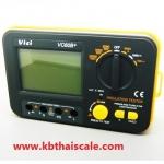 เครื่องตรวจสอบฉนวนแบบดิจิตอล แสดงค่าฉนวนไฟฟ้า VICI VC60B+ Digital Insulation Tester Meter Megger Megohmmeter