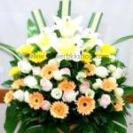 กระเช้าดอกไม้สด รหัส WBA19