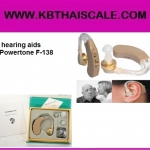 เครื่องช่วยฟังแบบคล้องหู Hearing Aid Cyber Sonic Hearing Aid/TV hearing aids Powertone F-138