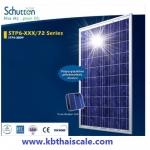 แผงโซล่าเซลล์ Schutten Solar Cell Poly-crystalline module 300W มาตราฐาน TUV IEC CE แผงโซล่าเซลล์ อายุการใช้งานนาน 25 ปี